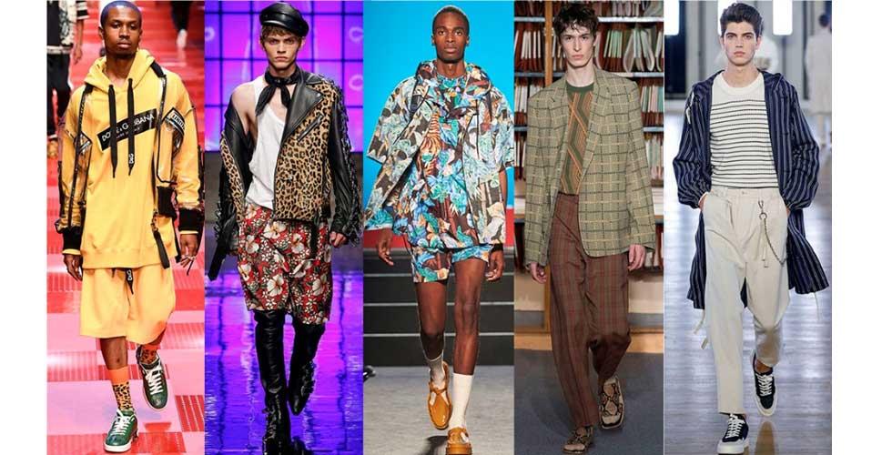 10a29c89224 Модные принты в мужской одежде весна-лето 2018